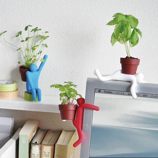Pot Man Mini Planter