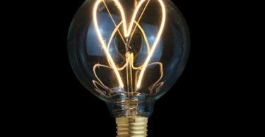 Love Globe LED Light Bulb