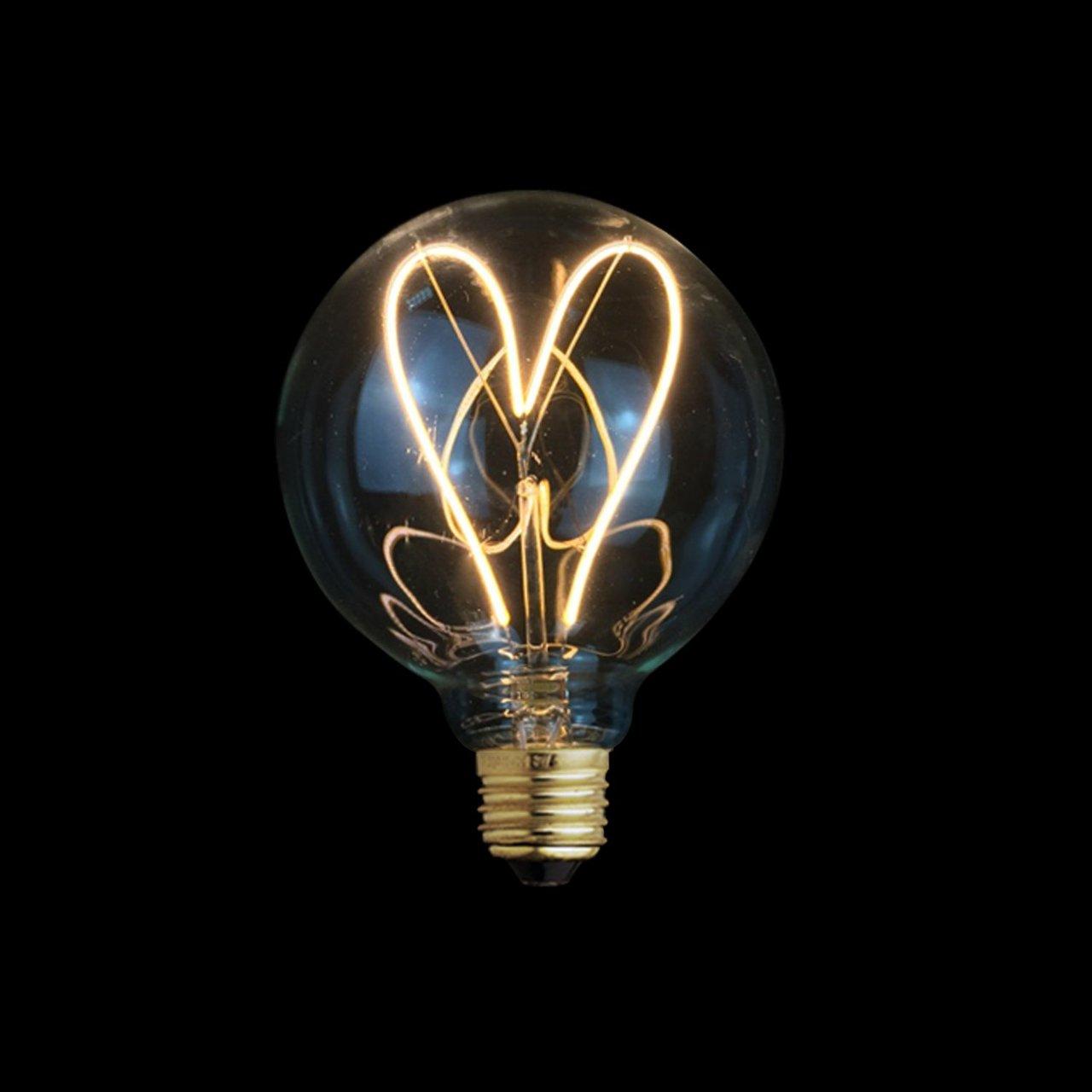 Love Globe Led Light Bulb 187 Petagadget