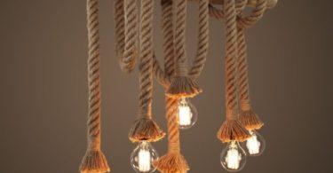 Nautical Rope Pendant Light