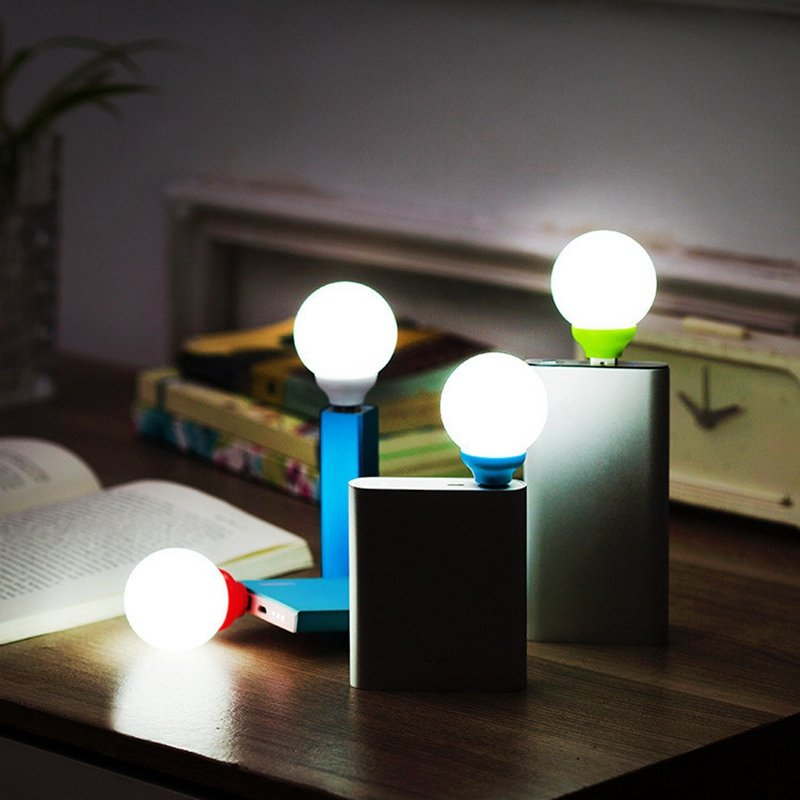 Mini Round USB LED Bubble Night Light
