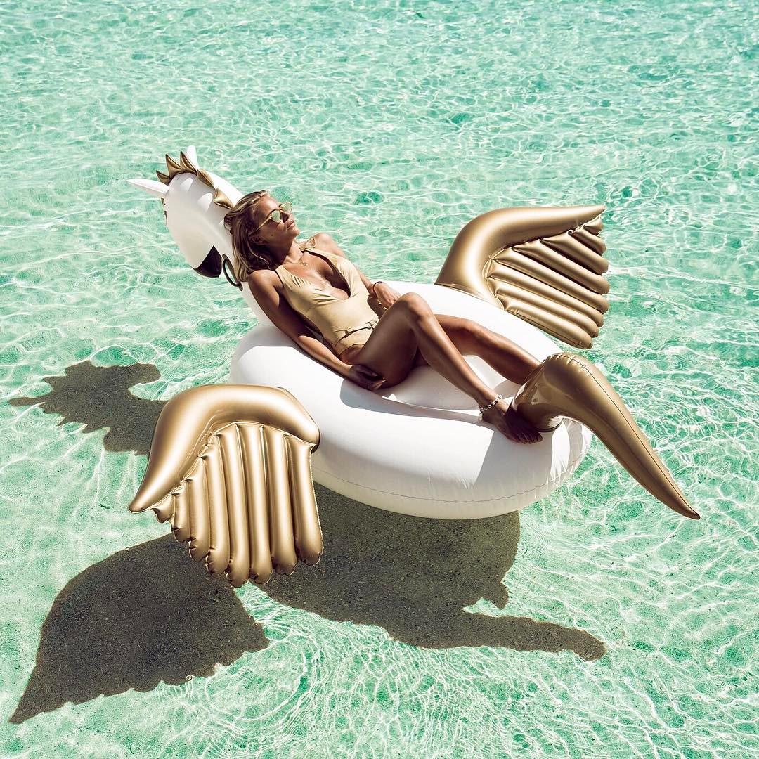 Giant Inflatable Pegasus Float
