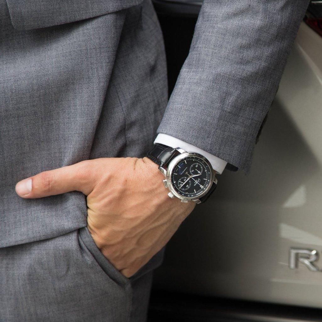 Glashutte Original Senator Chronograph XL Automatic Watch