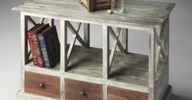 Butler Whitaker Gray Console Table