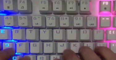 Firerose Waterproof Chroma LED Illuminated Keyboard