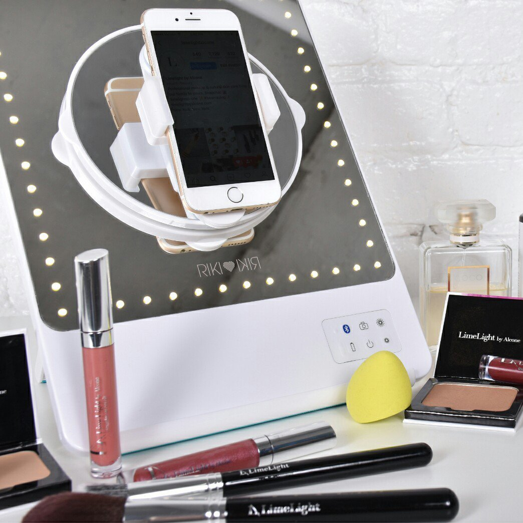 Riki Skinny Bluetooth Selfie Makeup Mirror 187 Petagadget