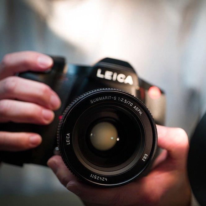 Leica S Medium Format DSLR