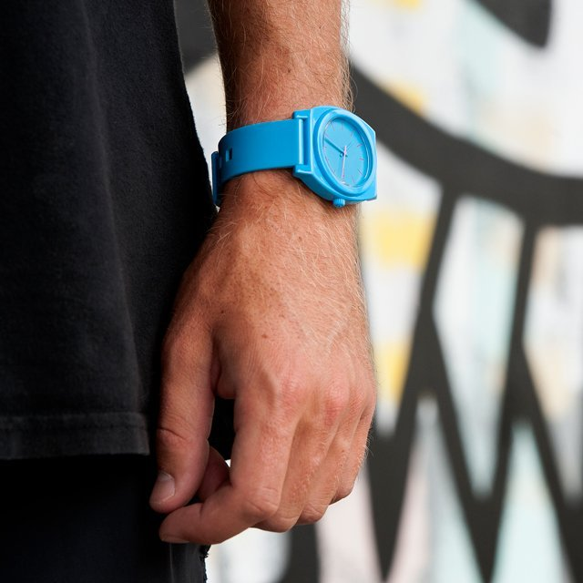 Bright Blue Time Teller P Watch