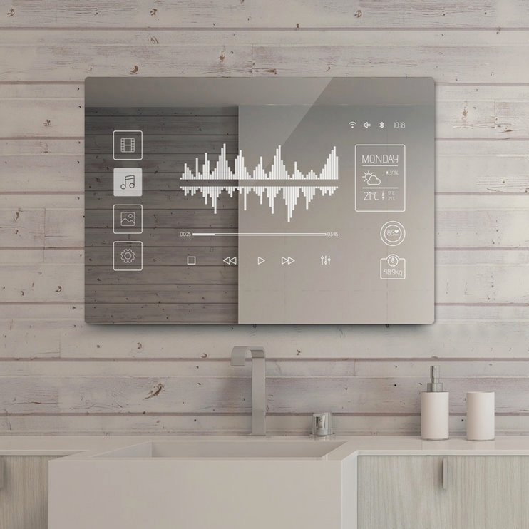 Touchscreen Smart Mirror by Mues-Tec