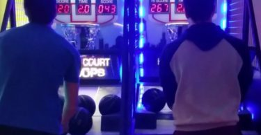Half Court Hoops Basketball Arcade Game