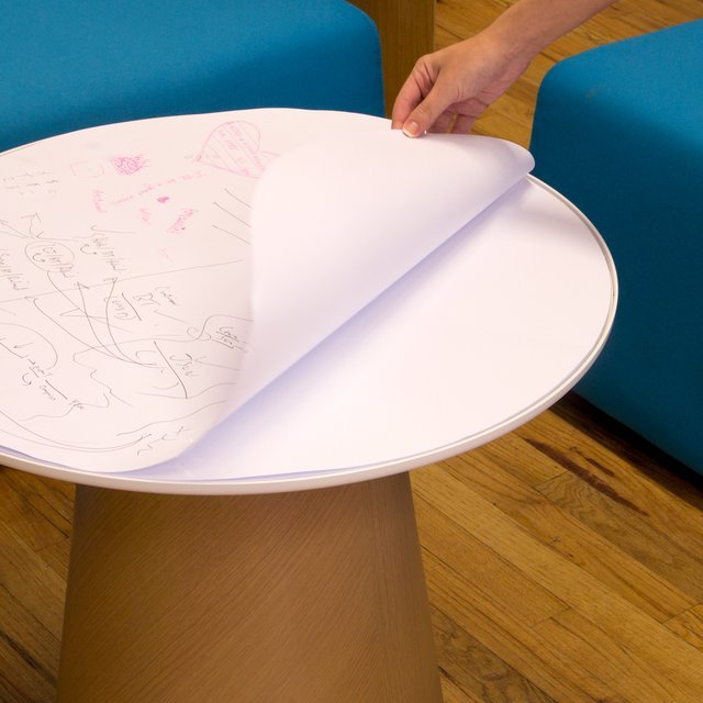 Campfire Paper Table by Turnstone