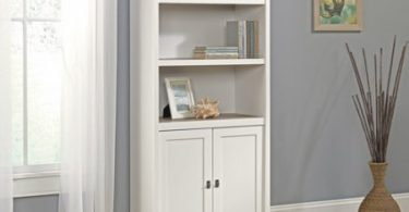 Standard White Bookcase, Tree Adjustable Shelves