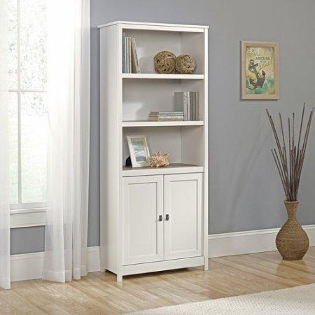 Standard White Bookcase, Tree Adjustable Shelves