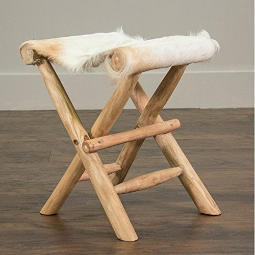 Contemporary Style Eagle Folding Stool