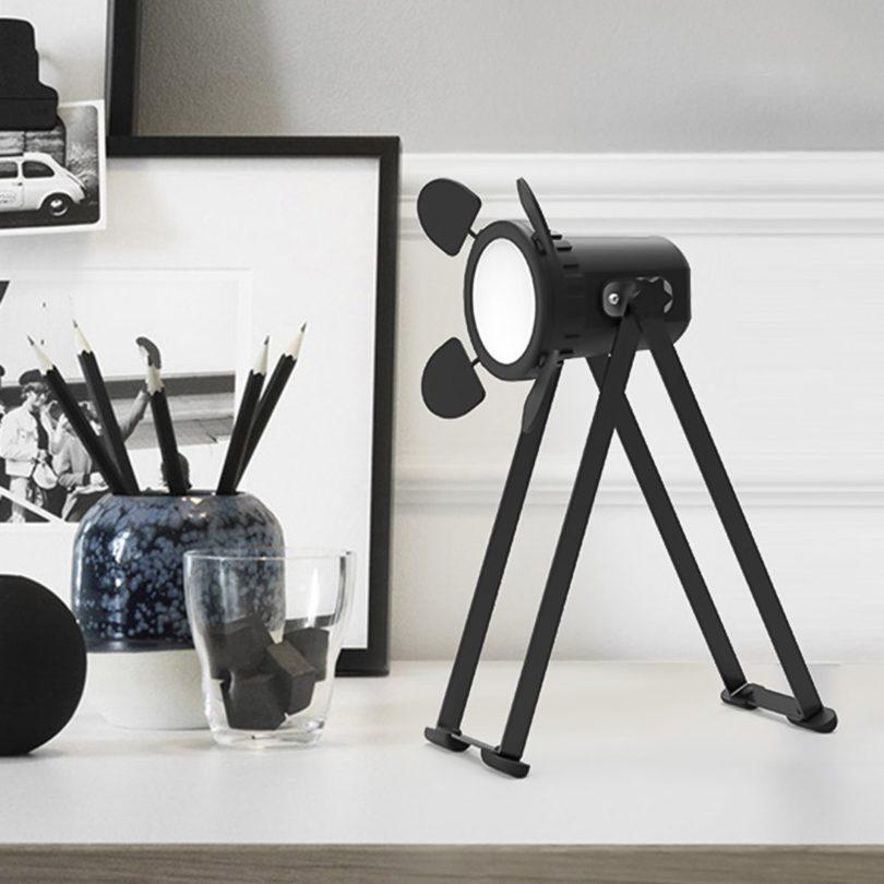 Industrial Look Rotatable LED Desk Lamp