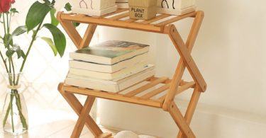 Foldable Bamboo Shelf
