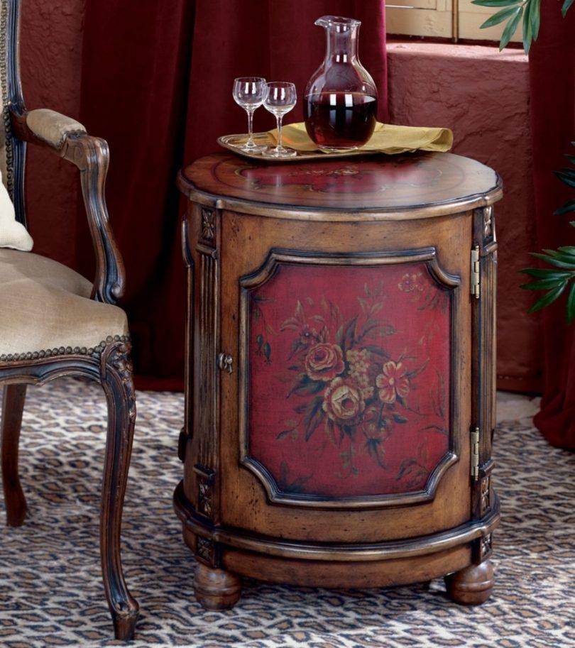 WOYBR 584065 Artists' Originals Modern Drum Table