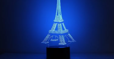 Eiffel Tower Optical LED