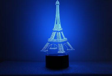 Eiffel Tower Optical LED