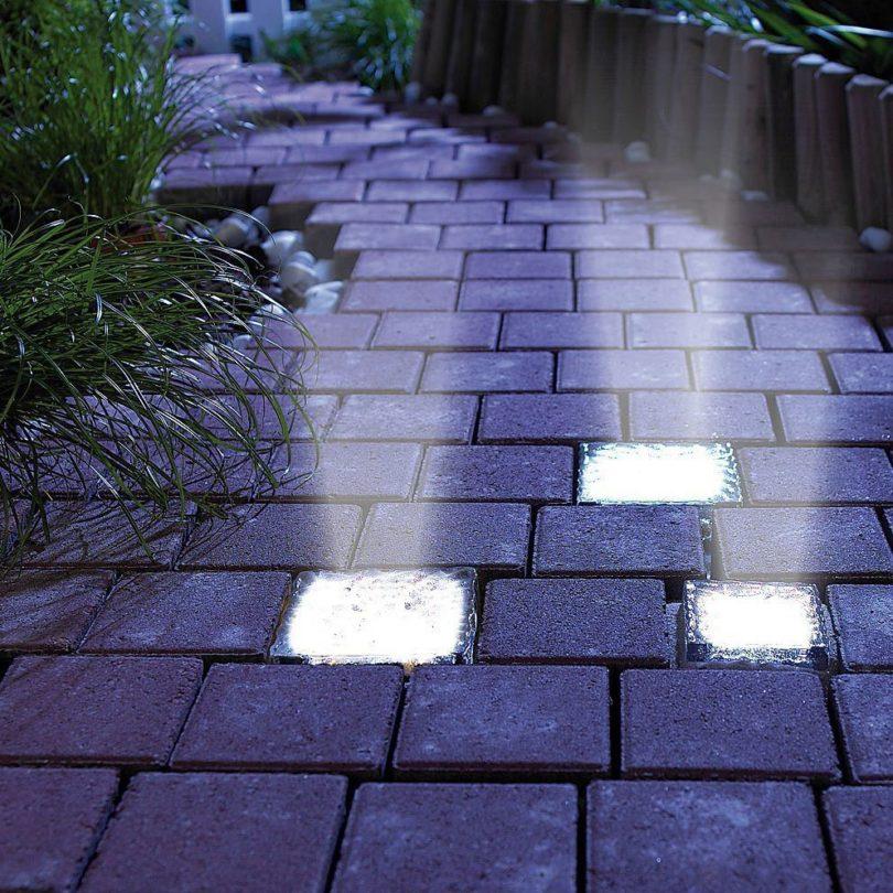 LED Solar Power Bricks