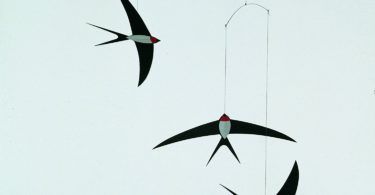 Flensted Mobiles 3 Swallow Hanging Mobile