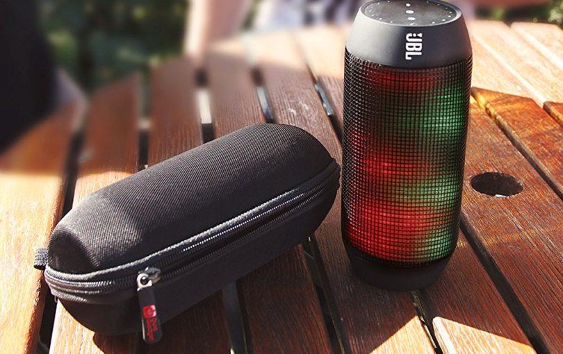 Premium Quality Custom-Designed Hard EVA Case in Black for JBL