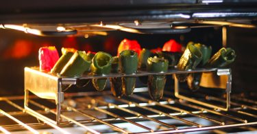 Chicken Wing Rack + Jalapeno Grill Roaster & Pepper Corer Tool
