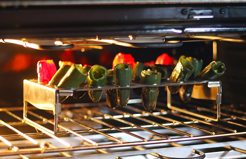 Chicken Wing Rack + Jalapeno Grill Roaster & Pepper Corer Tool