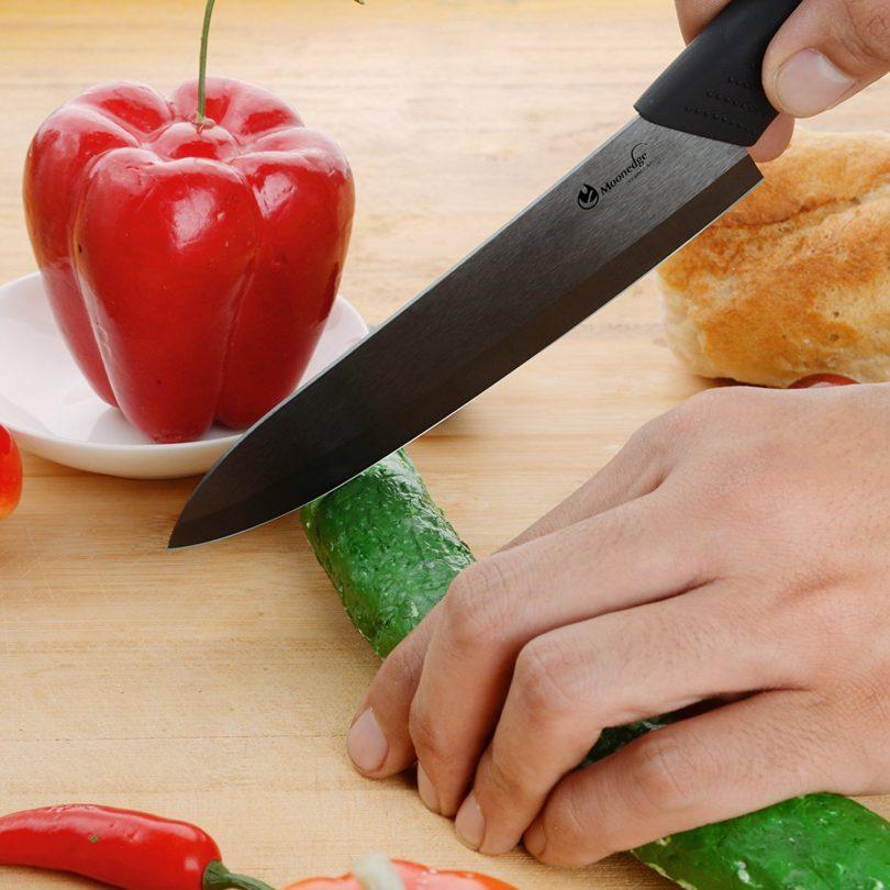 MOONEDGE High-strength Ultra Sharp Professional Ceramic Kitchen knife Chef's Knife