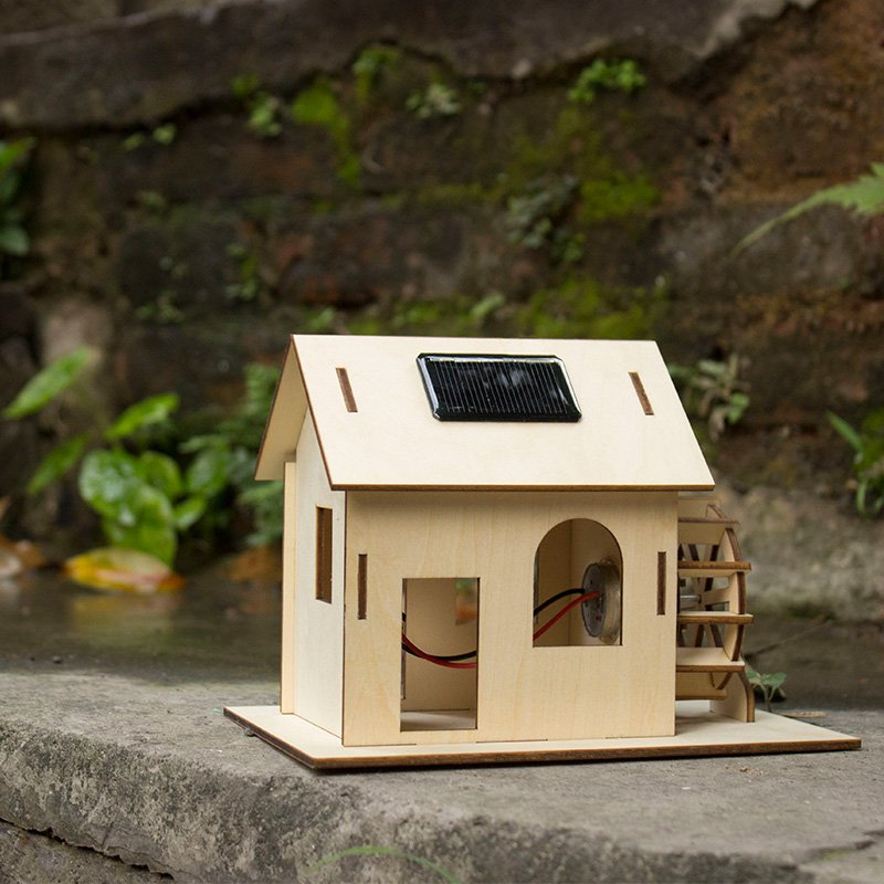 Solar Powered Watermill Kit