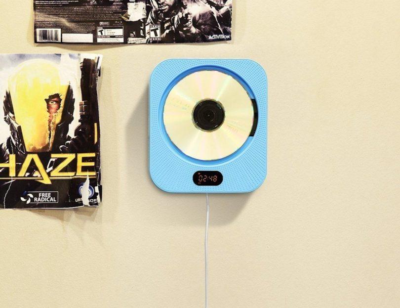 AGPtEK CD Player with 3.5mm Audio Jack