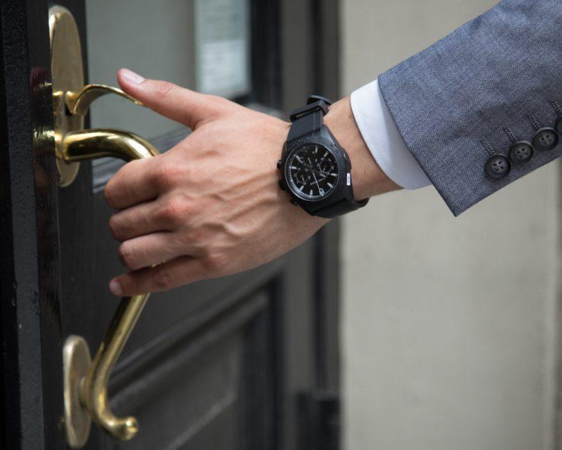 Tudor Fastrider Black Shield Chronograph Automatic Watch 42000CN