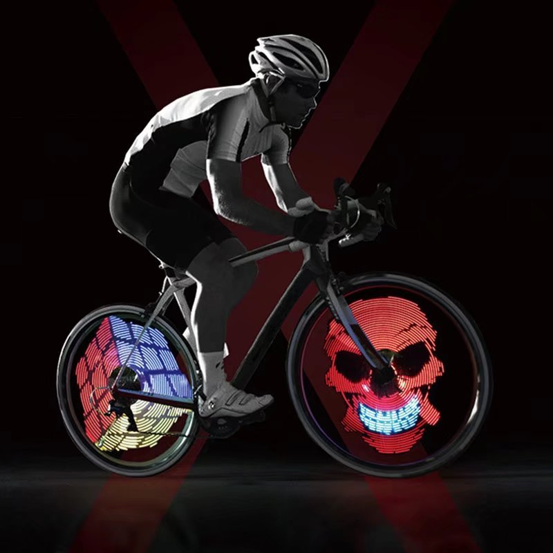 Colorful App Control Bicycle Wheel Light