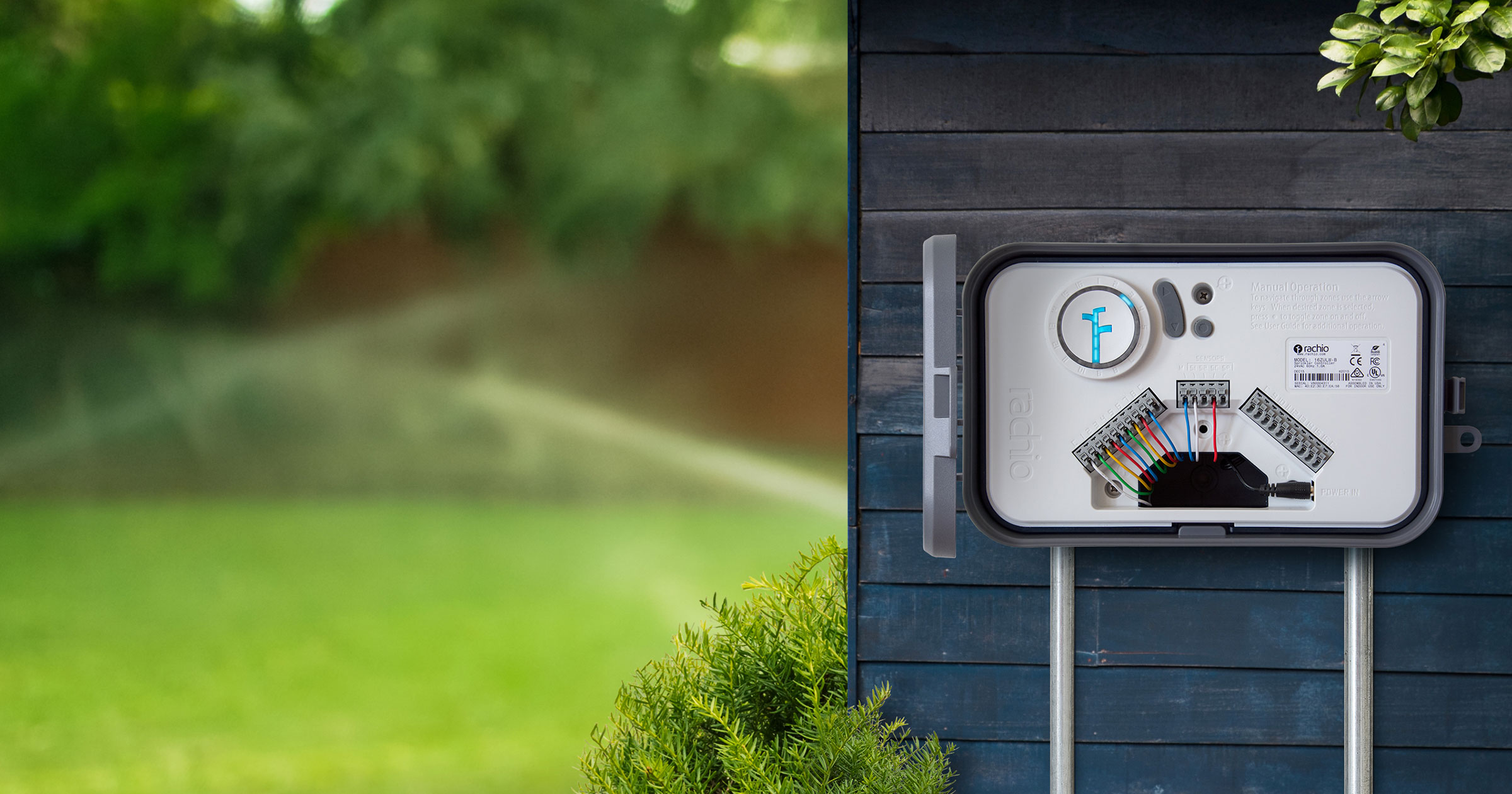 Rachio Outdoor Enclosure for 2nd Generation Sprinkler Controller