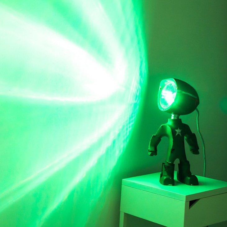 Lampster Robot Lamp