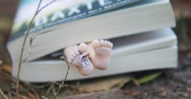 Dead Man Bookmark