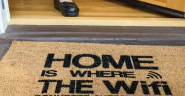 Automatic Wifi Coco Doormat