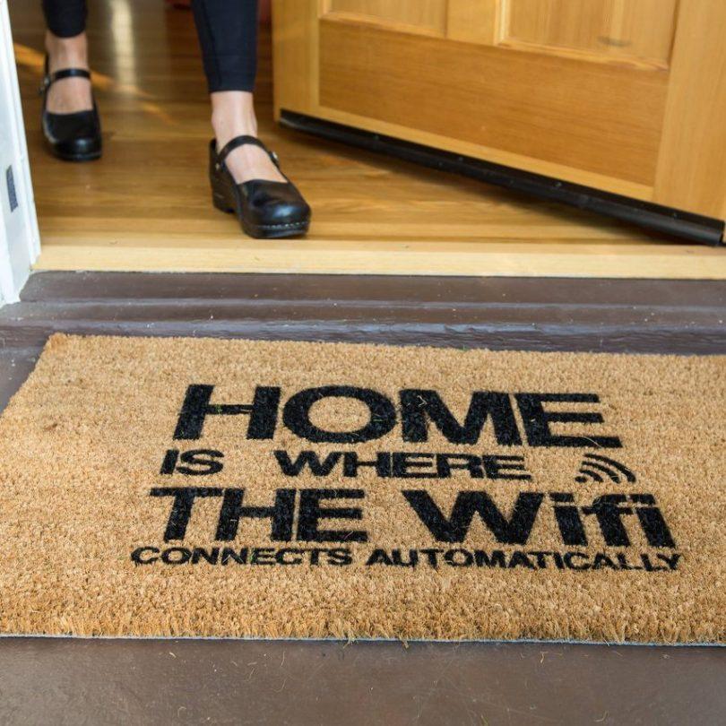 Automatic Wifi Coco Doormat