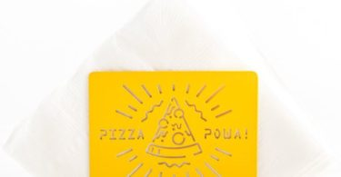 Pizza Powa Napkin Holder