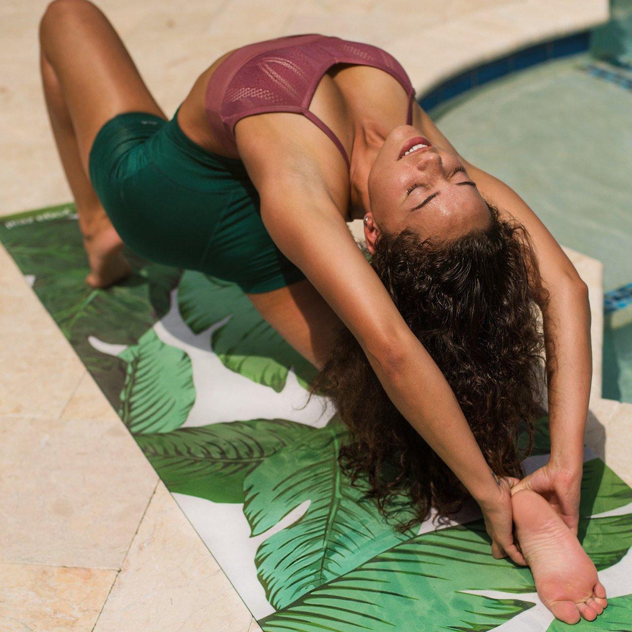 Banana Leaf Yoga Mat