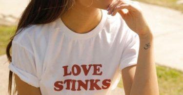 Love Stinks Boyfriend Tee