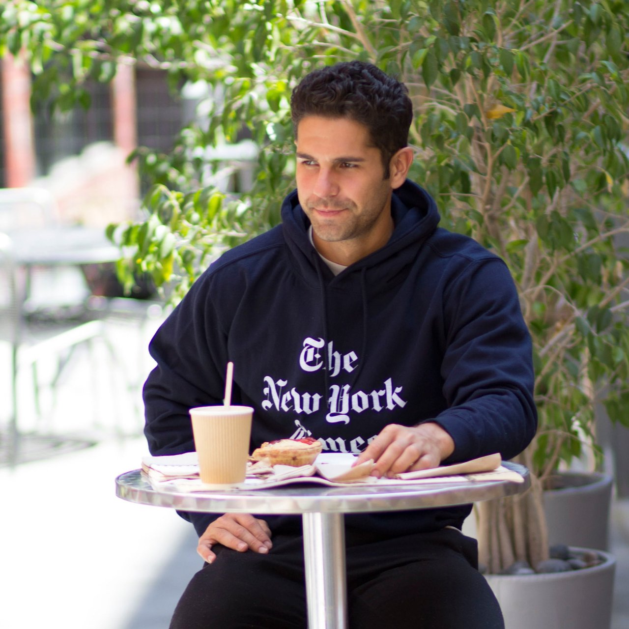 The New York Times Hoodie by Altru Apparel