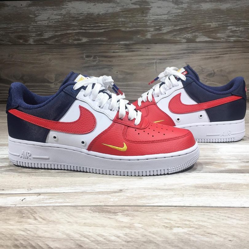 super popular 8742a 19b3a Nike Air Force 1 '07 LV8 Independence Day » Petagadget
