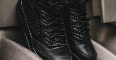 Air Jordan 5 Retro Premium Black Sneakers