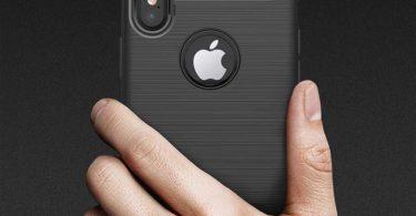 iPhone 8 Luxury Slim Armor Carbon Fiber Cover