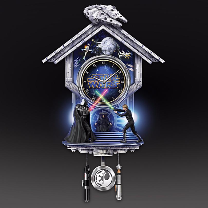 Jedi Wall Clock