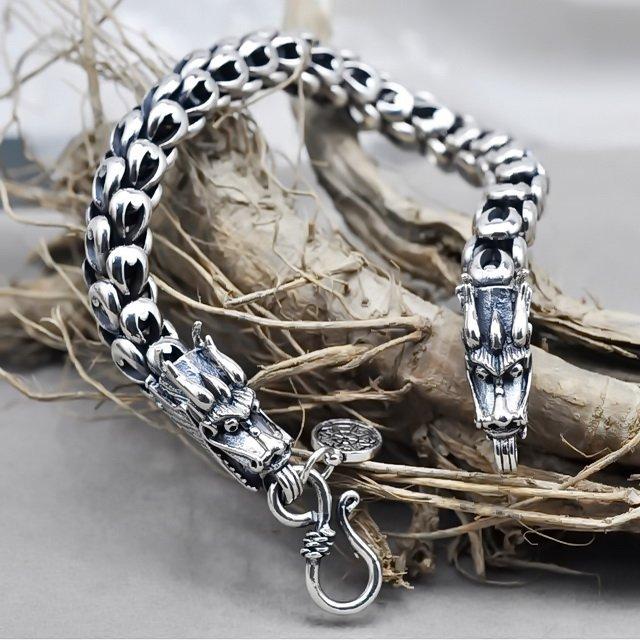 Dragon Silver Bracelet