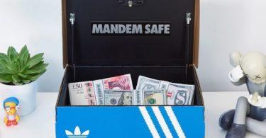 Mandem Shoe Box Safe