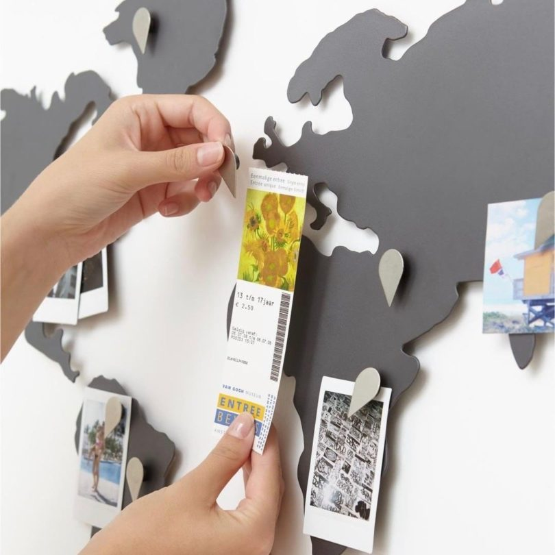 Mappit Metal Wall Map
