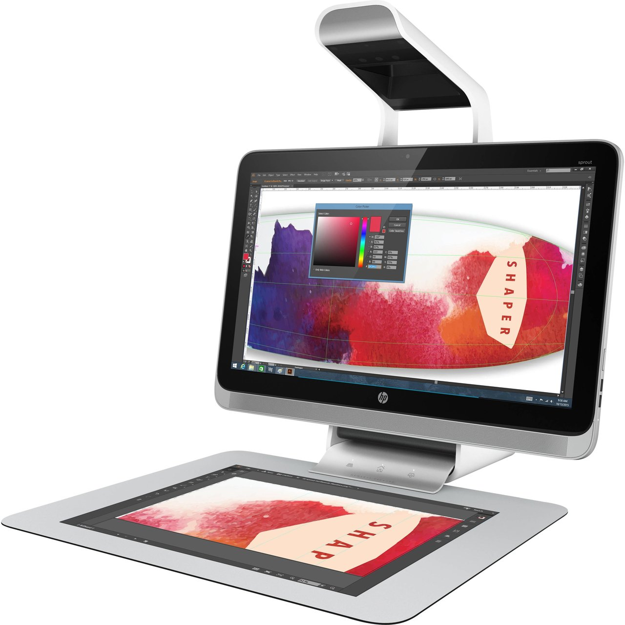 HP Sprout Pro Intel i7 All-in-One Business PC